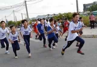 Ngày chạy Olympic vì sức khỏe toàn dân