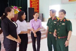Bộ Quốc phòng kiểm tra công tác tuyển sinh quân sự tại Bến Tre