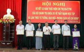 Thành ủy Bến Tre tăng cường xây dựng Đảng trong sạch, vững mạnh
