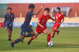 Giải U19 Quốc tế: U19 Trung Quốc rượt đuổi đánh bại U19 Myanmar