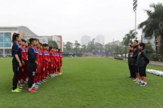 Tuyển U19 nữ Quốc gia tăng cường lực lượng chuẩn bị đá giải Châu Á