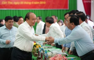 Thủ tướng khẳng định cam kết của Chính phủ về phát triển hạ tầng giao thông đồng bằng sông Cửu Long