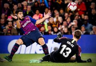 Vòng 31 La Liga: Với lợi thế hơn người, Barcelona  đánh bại Atletico Madrid