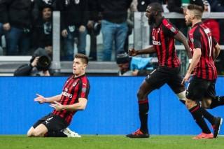 Juventus thắng AC Milan nhờ Moise Kean và Dybala