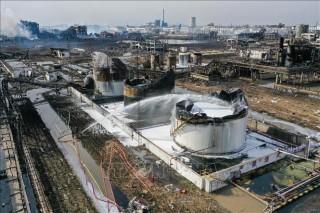 Hơn 10 ngàn người phải sơ tán do nổ ở nhà máy hóa chất tại Đài Loan (Trung Quốc)