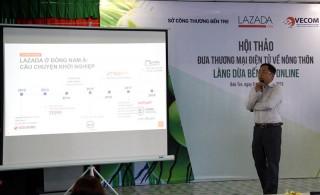 Kết nối cơ sở kinh doanh sản phẩm dừa Bến Tre với Lazada.vn