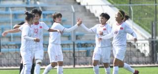 Toàn thắng cả 3 trận, đội tuyển nữ Việt Nam góp mặt ở vòng 8 đội mạnh nhất châu Á