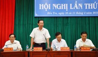 Bế mạc hội nghị Tỉnh ủy lần thứ 16