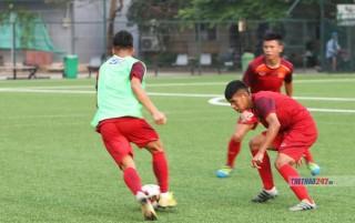 U18 Việt Nam hoà 2-2 Phố Hiến FC