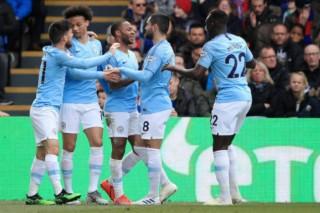 Vòng 34 Ngoại hạng Anh: Crystal Palace bị Man City hạ giục 1-3