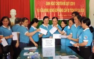 Chi bộ Hội Liên hiệp Phụ nữ tỉnh sinh hoạt chuyên đề quý I-2019