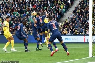 Để thua Nantes 2-3, PSG lần thứ 3 bỏ lỡ cơ hội vô địch Ligue 1 sớm