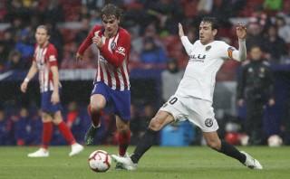 Atletico Madrid đánh bại Valencia 3-2