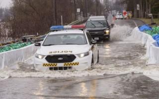 Thành phố Canada ban bố tình trạng khẩn cấp vì lũ lụt