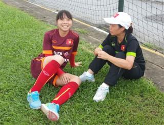 Tuyển thủ nữ đầu tiên của Việt Nam ra nước ngoài thi đấu