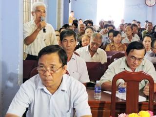 Đoàn Đại biểu Quốc hội tiếp xúc cử tri huyện Mỏ Cày Bắc, Chợ Lách