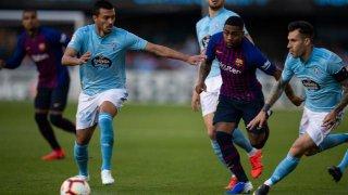 Vòng 36 La Liga: Barcelona gục ngã trên sân Celta Vigo 0-2