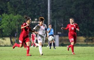 Thủ môn mắc sai lầm, U19 nữ Việt Nam thua đậm Trung Quốc