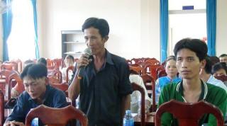 Đối thoại hộ nghèo, cận nghèo xã Nhơn Thạnh