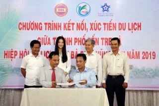 TP. Bến Tre và Hiệp hội Du lịch tỉnh Bà Rịa - Vũng Tàu kết nối, xúc tiến du lịch