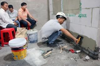 Tập huấn thi công các công trình sử dụng gạch không nung