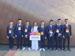 Việt Nam đoạt 2 Huy chương Bạc Kỳ thi Olympic Vật lí Châu Á 2019