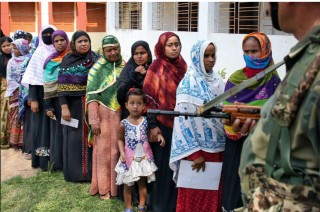 Cử tri Ấn Độ bỏ phiếu bầu cử Hạ viện giai đoạn 6