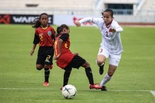 Giải U15 nữ Đông Nam Á 2019: Việt Nam thắng Đông Timor 16-0