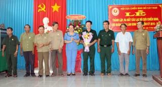 Thành lập và ra mắt Câu lạc bộ CCB - CQN làm kinh tế huyện Mỏ Cày Nam