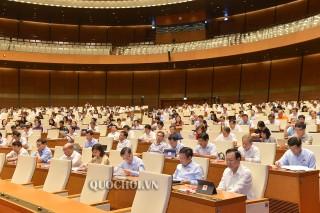 Quốc hội nghe giải trình, tiếp thu, chỉnh lý dự thảo Luật Kiến trúc