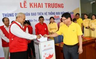 Khai trương Quỹ nhân đạo trên hệ thống Bưu điện Việt Nam