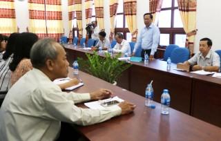 Phó Bí thư Thường trực Tỉnh ủy Phan Văn Mãi làm việc Ban Văn hóa - Xã hội, HĐND tỉnh