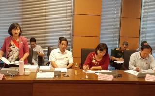 Đại biểu Quốc hội đơn vị tỉnh tham gia thảo luận các dự thảo luật