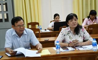 Kiểm tra thực hiện Nghị quyết số 02-NQ/TU của Tỉnh ủy về xây dựng Ðảng