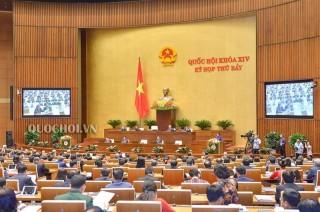 Thông cáo số 7 kỳ họp thứ 7, Quốc hội khoá XIV