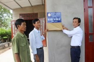 Bàn giao 5 căn nhà Nghĩa tình đồng đội tại huyện Ba Tri
