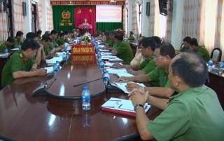Hội nghị giao ban lực lượng Cảnh sát hình sự 6 tháng đầu năm 2019