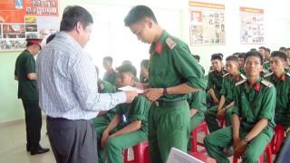 Lãnh đạo TP. Bến Tre thăm chiến sĩ mới tại Huyện Củ Chi, TP. Hồ Chí Minh