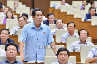 Đại biểu Quốc hội đơn vị tỉnh chất vấn Bộ trưởng Bộ Giao thông vận tải