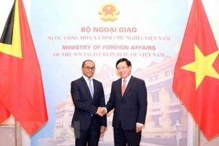 Việt Nam - Timor Leste nhất trí thúc đẩy hợp tác trên nhiều lĩnh vực