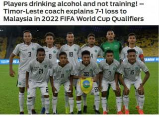 """Vòng loại World Cup 2022:  """"Tý hon"""" thua 1-7, báo châu Á sốc lý do"""