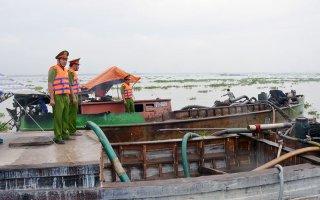 Kiểm tra phòng, chống khai thác khoáng sản tại Châu Thành