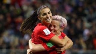 World Cup nữ 2019:  Đội tuyển nữ Mỹ thắng đậm đội tuyển nữ Thái Lan 13-0