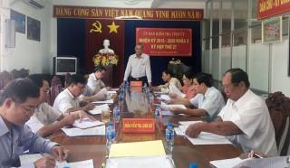 Kỳ họp thứ 27 Ủy ban kiểm tra Tỉnh ủy khóa X