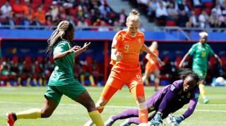 World Cup nữ 2019: Đội tuyển nữ Hà Lan  thắng tuyển nữ Cameroon 3-1