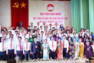 Ông Đoàn Văn Đảnh giữ chức Chủ tịch Ủy ban MTTQ Việt Nam tỉnh nhiệm kỳ 2019 - 2024