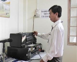 Đẩy mạnh xã hội hóa hệ thống đài truyền thanh cơ sở