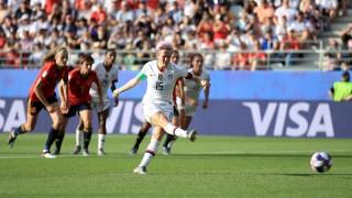 World Cup Nữ 2019:  Mỹ đánh bại Tây Ban Nha tiến vào tứ kết