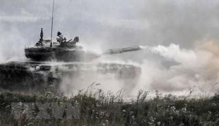 Nga chế tạo loại đạn pháo mới cho xe tăng T-72 và T-90 Mango-M