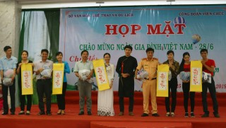 Nhiều hoạt động nhân Ngày Gia đình Việt Nam